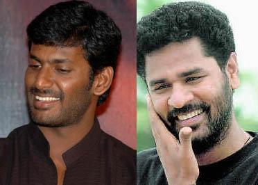 Vishal and Prabhu deva