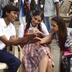 Raanjhnaa Movie working stills (2)